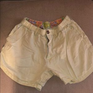 Yellow Chubbies with cool waistband